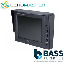 "Echomaster MON-35 3.5"" Car Dual Input 3.5"" Dash Mount Monitor Screen"