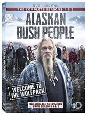 ALASKAN BUSH PEOPLE - SEASON 1 & 2    -  DVD - UK Compatible - New & sealed
