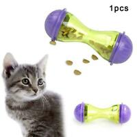 Cat Dog Feeder Plastic Pet Food Dispenser Treat Ball Leakage hot Toy Puppy Z8D3