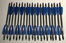 "20 carbon bolts 7,5"" blue Cobra R9 / RX / ADDER crossbow bolts Ek Archery"