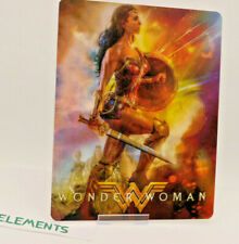 WONDER WOMAN - Lenticular 3D Flip Magnet Cover FOR bluray steelbook
