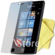 5 Pellicole Per Samsung I8350 OMNIA W Pellicola Proteggi Salva Schermo Display
