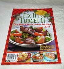 Magazine Fix-It & Forget-It Our Best Slow Cooker Recipes 2012 Cooking crock pot