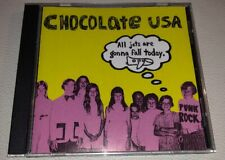 CHOCOLATE USA: All Jets Are Gonna Fall Today (CD, 1992, Bar None Records) RARE
