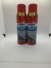 (2) Magic Countertop Cleaner 17 oz Clean Shine Protect Remove Dirt Residue