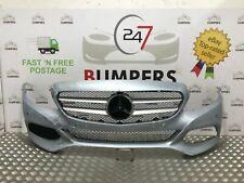 MERCEDES C-CLASS GENUINE A205 2014-ON FRONT BUMPER P/N: A205 880 0125