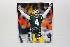 Brett Favre Signed Autographed Green Bay Packers 8x10 Photo With Favre COA