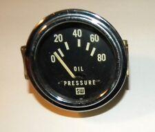 Vintage Stewart Warner Oil Pressure Gauge 428068 Unused Hot Rat Rod Gasser Car