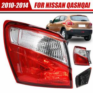 For Nissan Qashqai 2010-2014 Left Car Rear Outer Light Brake Tail Light Lamp