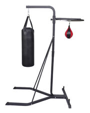Multi Station Boxing Punching Kick Bag Stand Speed Ball Home Gym Exercise