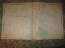 3 ANTIQUE 1892 DOVER NEW HAMPSHIRE HANDCOLORED MAP INDUSTRY SUPERB DETAILED RARE