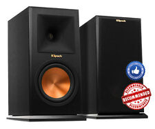 PAIR KLIPSCH RP-160M RP-160 M BOOKSHELF SPEAKERS BRAND NEW - WARRANTY - EBONY