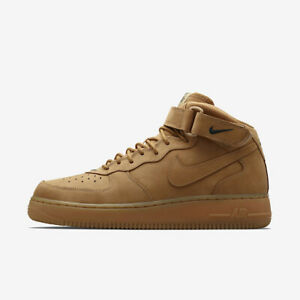 Nike Air Force 1 Mid PRM QS - Flax - UK 11 - BRAND NEW DS