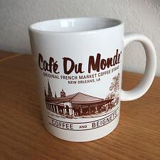 "Cafe Du Monde French Market Coffee & Beignets Stand  Coffee Mug   3 7/8"""