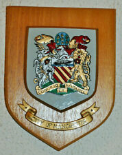 City of Manchester wall plaque shield crest coat of arms