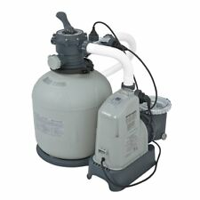 Intex 120V Krystal Clear Sand Filter Pump & Saltwater System CG-28679 with E.C.O