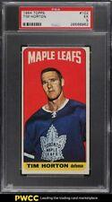 1964 Topps Hockey Tim Horton #102 PSA 5 EX