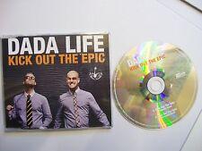 DADA LIFE Kick Out The Epic – 2012 UK CD PROMO  - Electronic, Dubstep -  BARGAIN