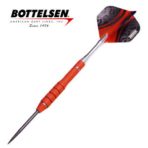 Bottelsen - Xtreme Great White 23g Red - Fixed Point - Steel Tip Darts - D1359