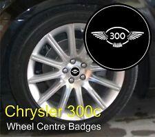 Chrysler 300c '300 wing' Logo Wheel Centre Badge Emblems