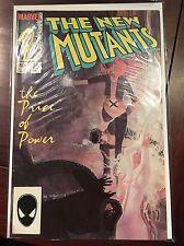 The New Mutants Comic #25, Marvel 1985, 1st Cameo App of Legion FX TV vf