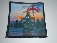 SODOM PERSECUTION MANIA SUBLIMATED PATCH