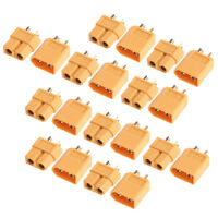 20PCS XT60 Male Female Bullet Connectors Plugs for RC Lipo Battery New 10 Pairs