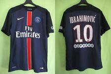 Maillot PSG Paris Saint Germain PSG Ibrahimovic 2015 2016 Nike Vintage - M