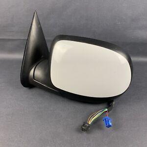 2003-2006 Chevrolet Tahoe GMC Yukon Left Driver Side Door Mirror Power White OEM