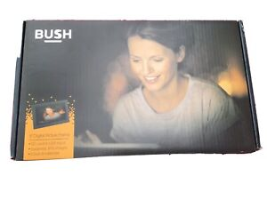 "Bush Digital Photo Frame 9"" 800x480 USB2.0 Clock Calendar Photos Pictures BNIB"