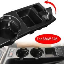 For BMW E46 3 Series Front Center Console Drink Cup Holder Black 51168217957