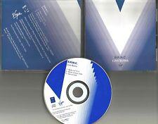B.r.m.c BLACK REBEL MOTORCYCLE CLUB Love Burns RARE MIX PROMO DJ CD single 2001