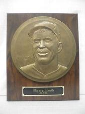 Mickey Mantle New York Yankees Highland Mint Bronze Caesar Rufo Patina Monument