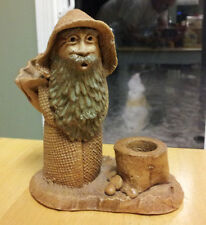 "LORD OF THE RINGS GANDALF  FIGURE - Pipe Ashtray? Ceramic 6"" tall 5"" wide"