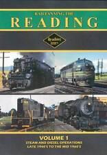 Railfanning the Reading Railroad Volume 1 DVD NEW John Pechulis anthracite CNJ