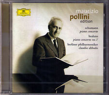 Maurizio POLLINI: BRAHMS & SCHUMANN Piano Concerto No.1 ABBADO CD Klavierkonzert