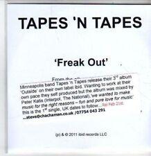 (BT395) Tapes 'N Tapes, Freak Out - DJ CD