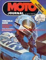 MOTO JOURNAL  260 KAWASAKI 250 KH GP Venezuela ; PONS et ROUGERIE à DAYTONA 1976