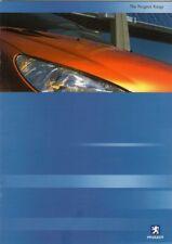 Peugeot 2000-01 UK Market Sales Brochure 106 206 306 406 607 806 Expert Partner