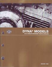 HARLEY-DAVIDSON Teilebuch 2013 FLD Dyna Switchback Buch 99439-13A Teilekatalog