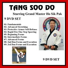 TANG SOO DO 9 DVD Set with HO SIK PAK training series panther productions mma
