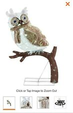 "42""   Splendor REALISTIC OWL105  LED Lights Christmas Outdoor Decoration"