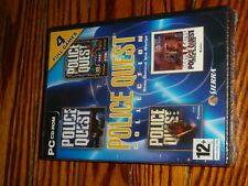 police quest Collection 4 games in 1  PC game  - new sealed