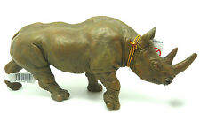 W11) Papo (50066) Negro Rinoceronte Rinoceronte Safari Sabana África africano