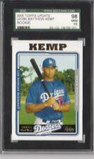 2005 Topps Update #UH284 Matt Kemp Rookie RC SGC 98
