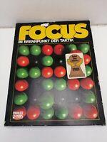 Focus von Parker Brettspiel Spiel des Jahres 1981 Taktik guter Zustand