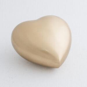 Cremation Urn - Bronze Heart Child/Infant Cremation Urn - Second Quality.