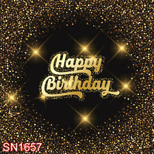 Birthday 10x10 FT CP (COMPUTER PRINTED) PHOTO SCENIC BACKGROUND BACKDROP SN1657