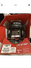 "Ccm Ht04 Helmet Size Large 7""- 7 1/2"" Black Youth Helmet."