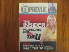 March-2009 Chicago Sun-Times TV Prevue Maga(THE INSIDER/LARA SPENCER/IAN McSHANE